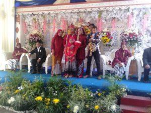 Dekorasi pernikahan putih