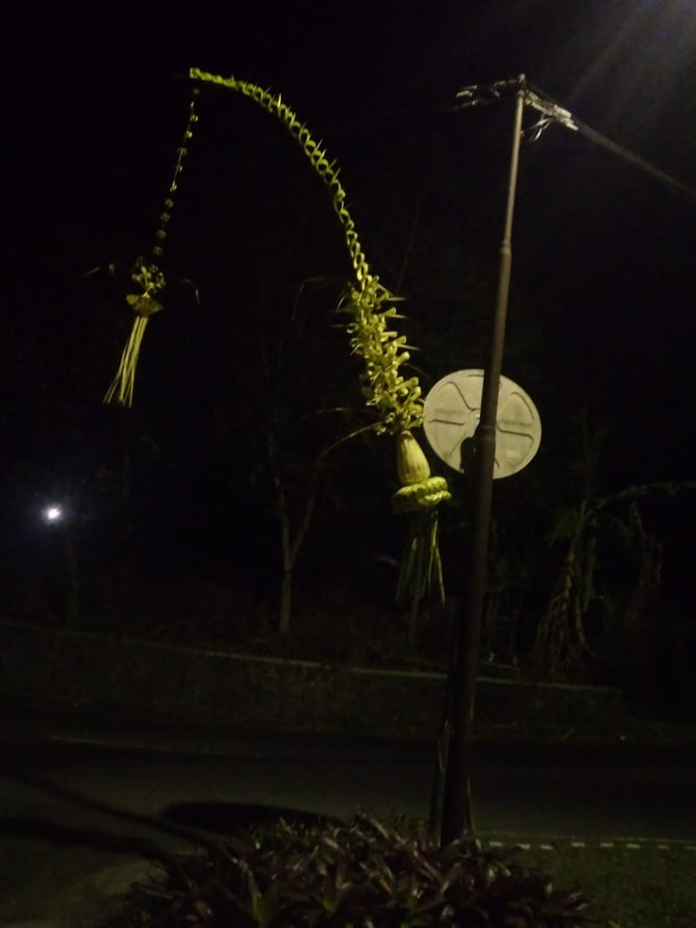 penjor janur Yogyakarta