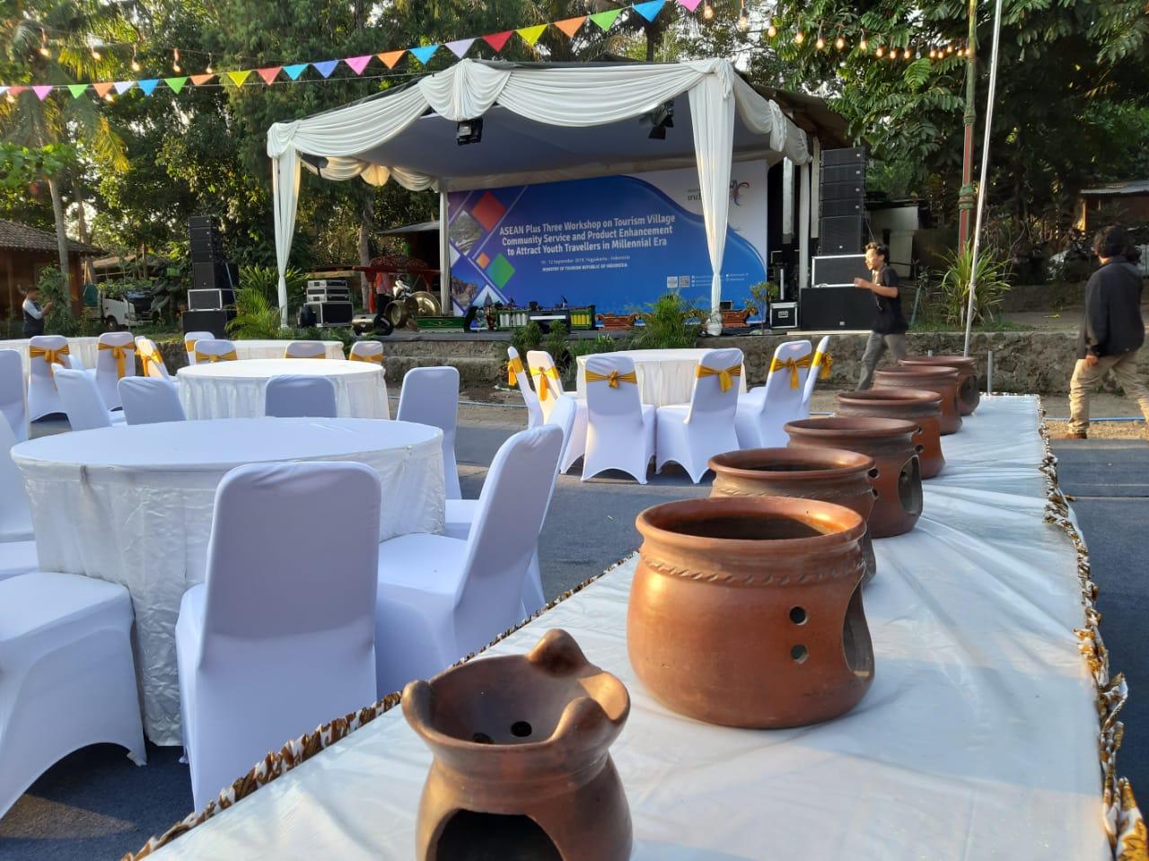 dekorasi Gala dinner