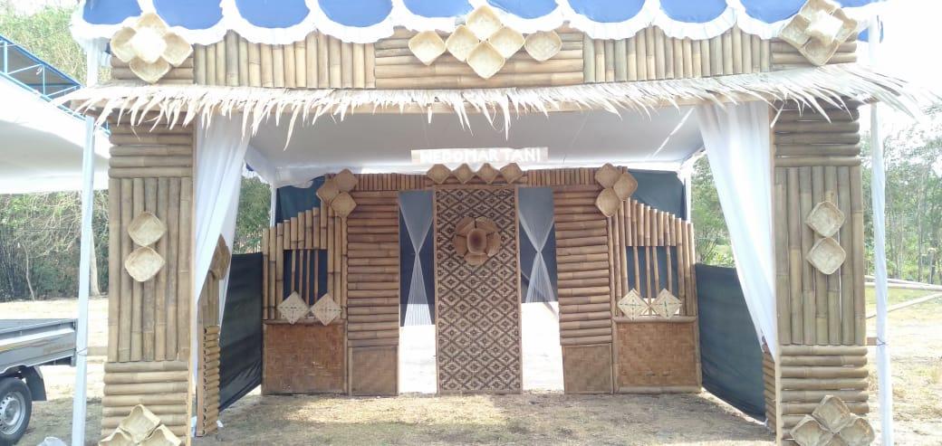 Stand booth klasik tradisional