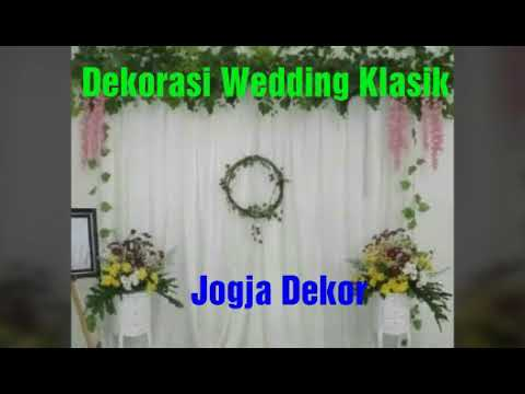 dekorasi pernikahan wedding sederhana gedung pamungkas