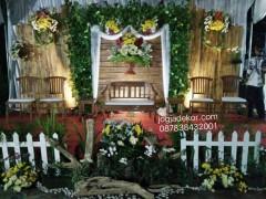 Dekorasi Foto Booth Dari Bambu Jogja Dekor Jasa Dekorasi